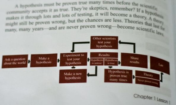 Incorrect Definition of Theory flowchart